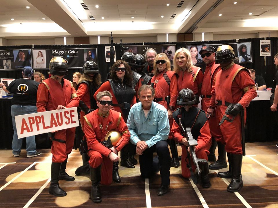 Marc Singer with the CT-V at DragonCon 2019